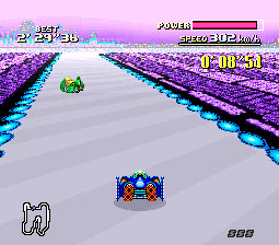 F-Zero SNES Screenshot Screenshot 2