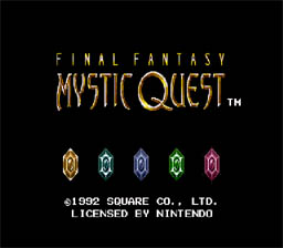 Final Fantasy Mystic Quest SNES Screenshot Screenshot 1