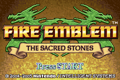 Fire Emblem The Sacred Stones screen shot 1 1