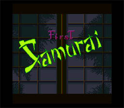 First Samurai SNES Screenshot Screenshot 1
