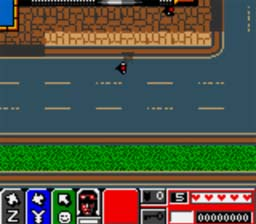 Poopy Reviews: Grand Theft Auto 2 (GBC) GTA2_GBC_ScreenShot2