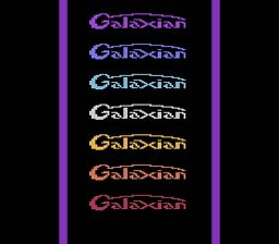 Galaxian Atari 2600 Screenshot 1