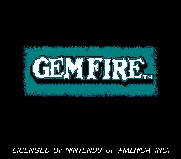 Gemfire NES Screenshot 1