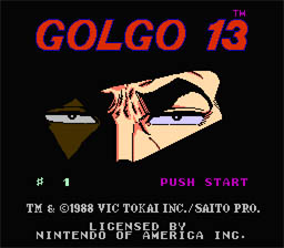 Golgo 13 NES Screenshot Screenshot 1
