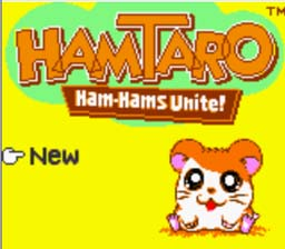 Hamtaro: Ham-Hams Unite! GBC Screenshot Screenshot 1