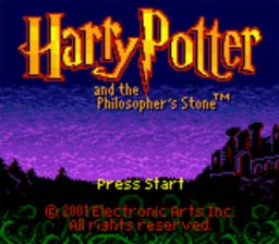Harry Potter and the Sorcerer's Stone GBC Screenshot Screenshot 1