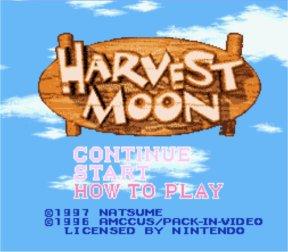 Tổng hợp link download Harvest Moon Harvest_Moon_SNES_ScreenShot1