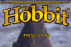 Hobbit, The GBA Screenshot Screenshot 1