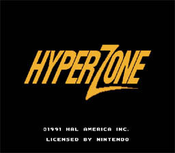 Hyperzone SNES Screenshot Screenshot 1