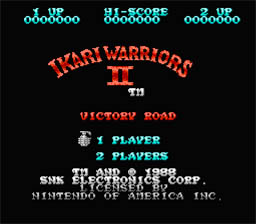 Ikari Warriors 2 NES Screenshot Screenshot 1