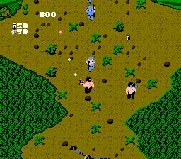 Ikari Warriors NES Screenshot Screenshot 4
