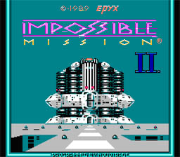 Impossible Mission 2 NES Screenshot Screenshot 1