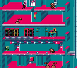 Impossible Mission 2 NES Screenshot Screenshot 2