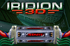 Iridion 3D GBA Screenshot Screenshot 1