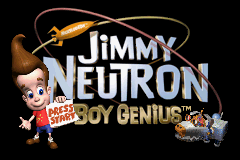 Jimmy Neutron Boy Genius GBA Screenshot Screenshot 1
