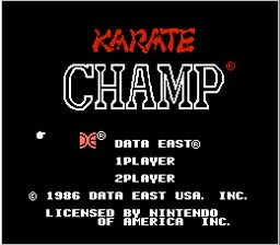 Karate Champ NES Screenshot Screenshot 1