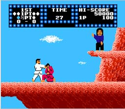 Karate Champ NES Screenshot Screenshot 2