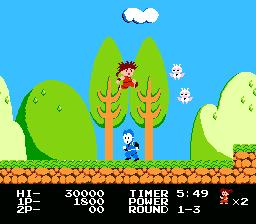 Kid Niki Radical Ninja NES Screenshot Screenshot 2