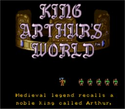 King Arthur's World SNES Screenshot Screenshot 1