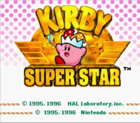 Kirby Super Star SNES Screenshot Screenshot 1