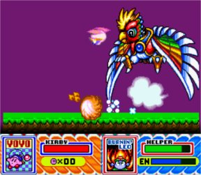 Kirby Super Star screen shot 2 2