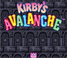 Kirby's Avalanche SNES Screenshot Screenshot 1