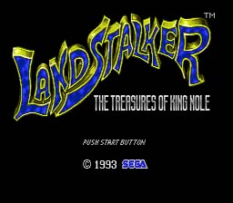 Land Stalker Genesis Screenshot Screenshot 1
