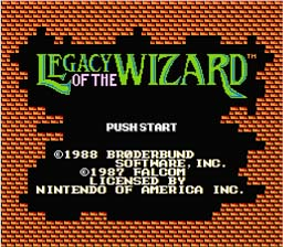 Legacy of the Wizard screen shot 1 1