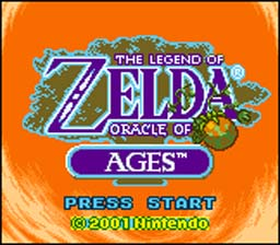 Legend of Zelda: Oracle Of Ages Gameboy Color Screenshot 1