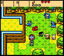 Legend of Zelda: Oracle Of Ages GBC Screenshot Screenshot 2