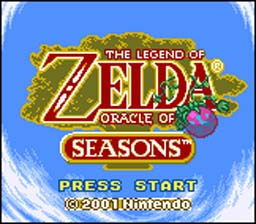 Legend of Zelda: Oracle Of Seasons Gameboy Color Screenshot 1