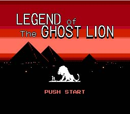 Legend of Ghost Lion NES Screenshot Screenshot 1