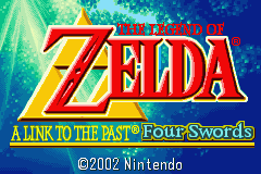 Legend of Zelda: Four Swords Gameboy Advance Screenshot 1