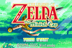 Legend of Zelda: The Minish Cap Gameboy Advance Screenshot 1