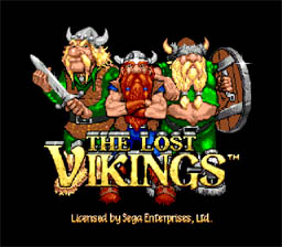 Lost Vikings Genesis Screenshot Screenshot 1
