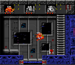 Lost Vikings SNES Screenshot Screenshot 4