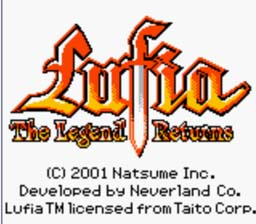 Lufia The Legend Returns Gameboy Color Screenshot 1