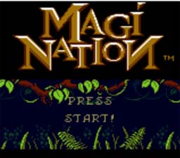 Magi Nation GBC Screenshot Screenshot 1