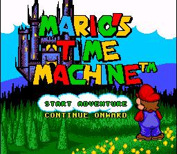 Mario's Time Machine SNES Screenshot Screenshot 1
