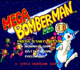 Mega Bomberman Genesis Screenshot Screenshot 1