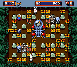 Mega Bomberman screen shot 2 2