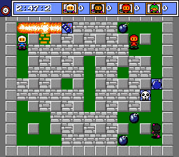 Mega Bomberman screen shot 4 4