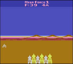 Mega Force Atari 2600 Screenshot Screenshot 1