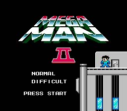 Mega Man 2 NES Screenshot 1