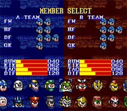 Mega Man Soccer screen shot 2 2