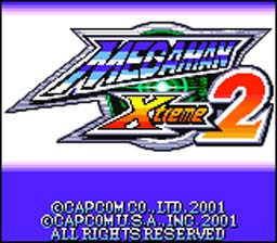 Mega Man Xtreme 2 GBC Screenshot Screenshot 1