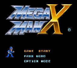 Mega Man X SNES Screenshot Screenshot 1