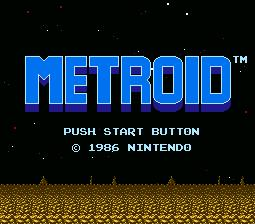 Metroid NES Screenshot 1