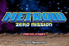 Metroid Zero Mission GBA Screenshot Screenshot 1