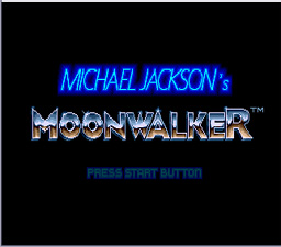 Michael Jackson's Moonwalker Genesis Screenshot Screenshot 1